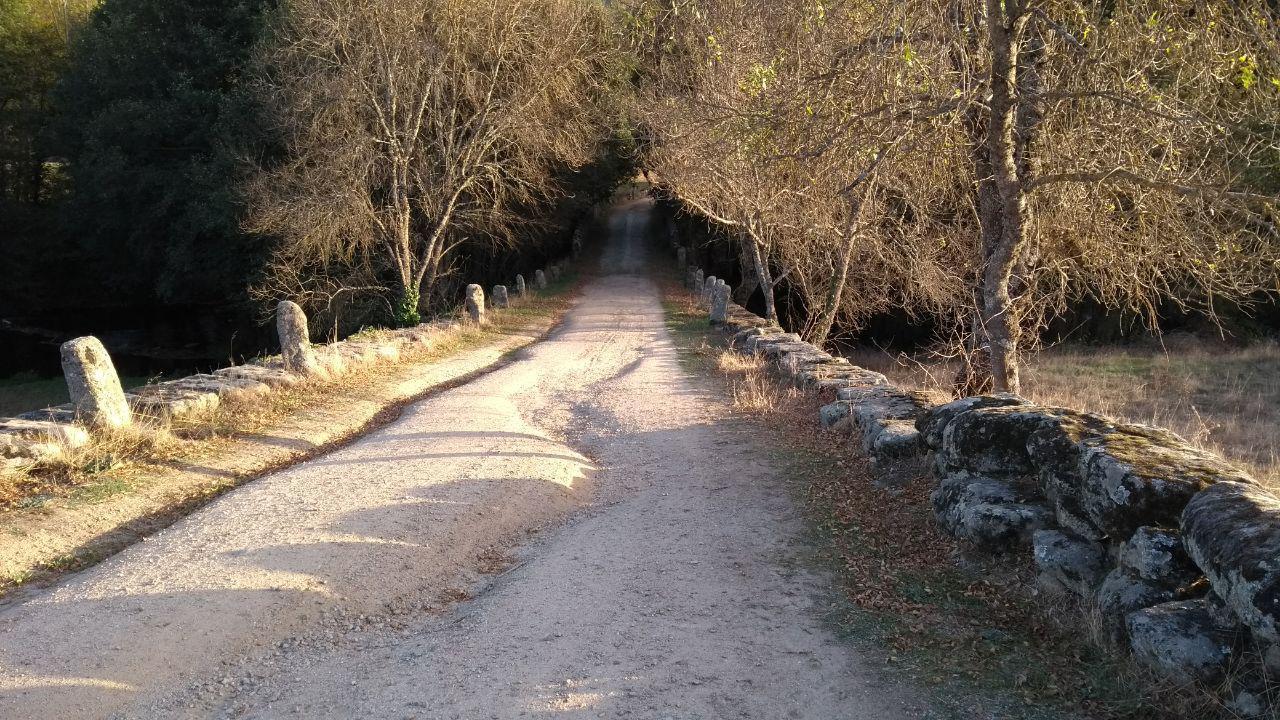 Weg zur Puente de la Malena